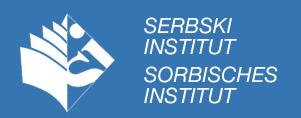 Logo Instytutu Serbołużyckiego