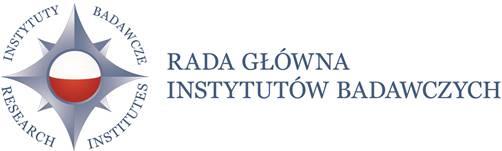 Logo Rady Głównej Instytutów Badawczych