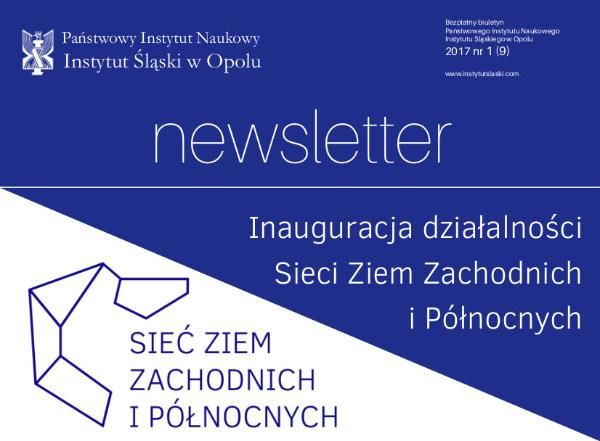 Newsletter nr 1 (9) 2017
