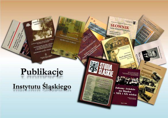 Okładki publikacji Instytutu Śląskiego - baner promocyjny