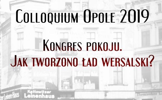 Colloquium Opole 2019 – o konferencji