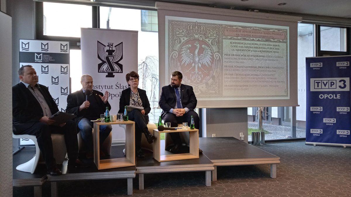 """Po konferencji """"W stulecie wprowadzenia marki polskiej na terenie Rzeczpospolitej"""""""