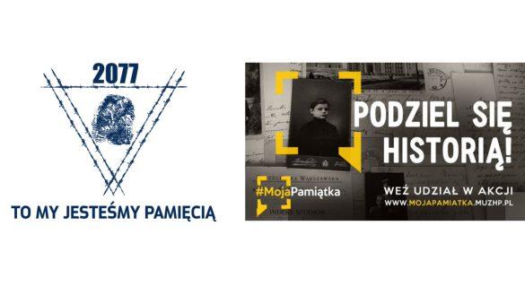 Bannery dwóch projektów społecznych