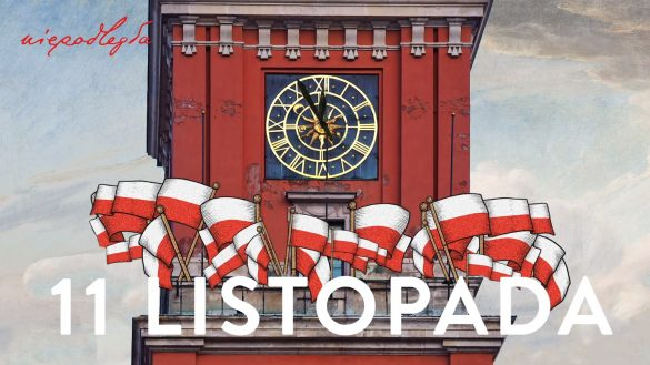 Grafika promująca święto 11 listopada