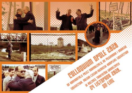 Miniatura okładki zaproszenia na konferencję Colloquium Opole 2020