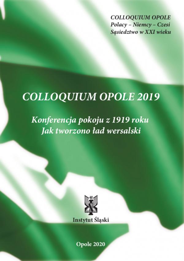 "Okładka ""Colloquium Opole 2019"""