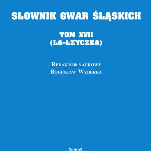 Słownik Gwar Śląskich t. 17 - okładka