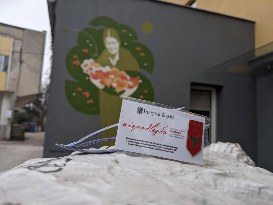 Mural Ireny Sendlerowej