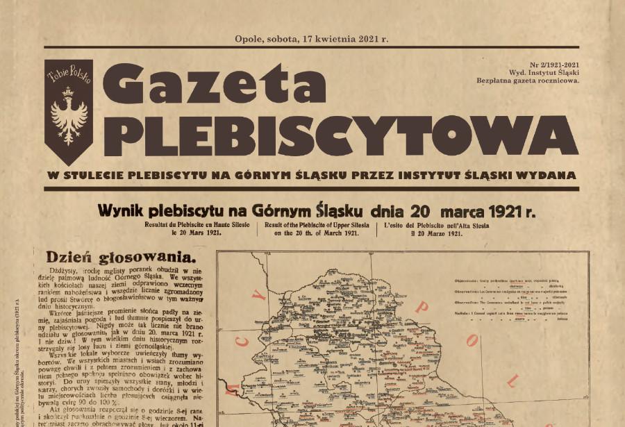Drugi numer Gazety Plebiscytowej