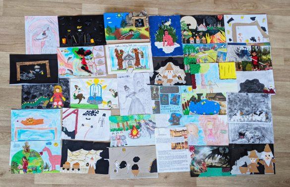 Prace przesłane na konkurs z okazji Dnia Dziecka